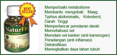 Naturfit untuk terapi hipertensi
