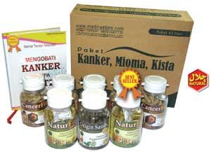 Paket Pengobatan Kanker Alami 45 Hari, Aman, Efektif dan banyak Testemony
